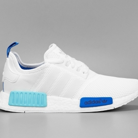 NMD WHITE BLUE MESH